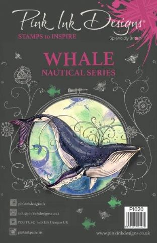 Pink Ink Designs Clear Stamp Whale